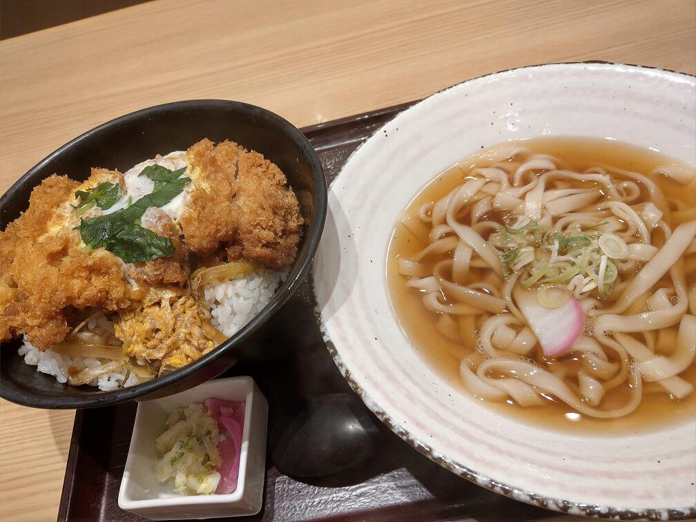 カツ丼+ミニ麺付きのセットW